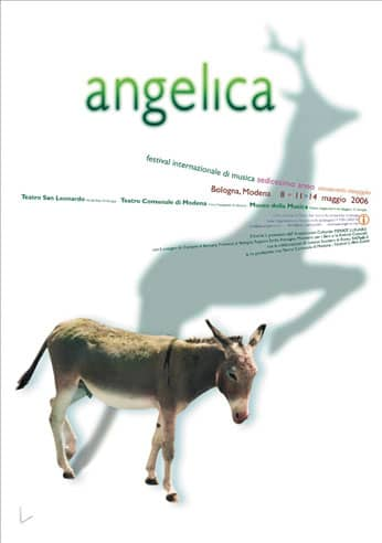Poster - Festival AngelicA 16, 2006 - aaa art angelica