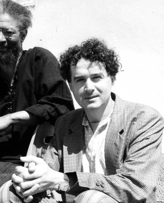 Massimo Simonini con half Butch Morris (Photo by Emiliano Neri)