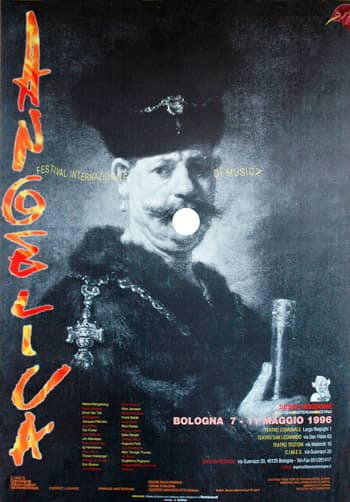 Poster - Festival AngelicA 6, 1996 - aaa art angelica