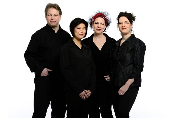 Quatuor Bozzini (photo by Michael Slobodian)