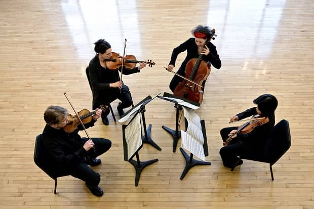 Quatuor Bozzini (photo by Michael Slobodian)