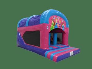 Princess Rear Slide Combo Bouncy Castle