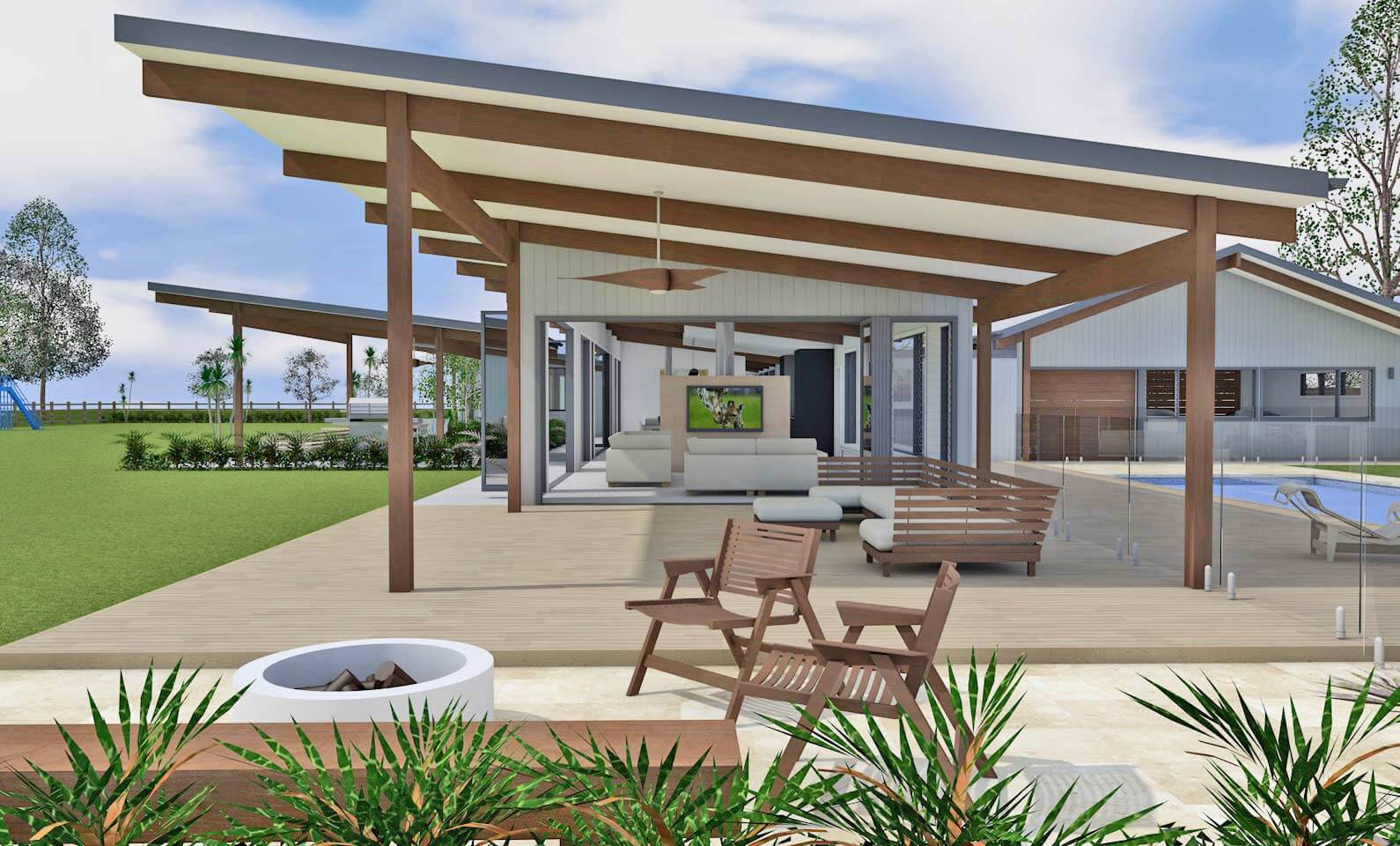 Architect Design 3D Concept - Vintage House Hunter Valley on Aust Outdoor Living  id=73696