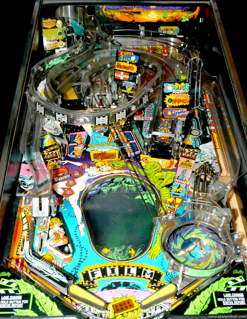 Bally Creature From The Black Lagoon Www Aaarpinball Com