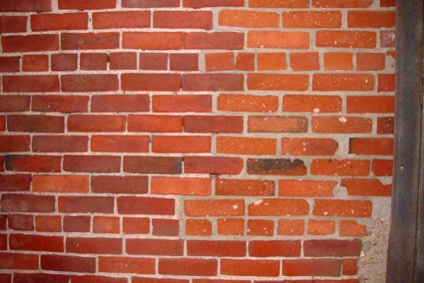 Painted Brick Wall