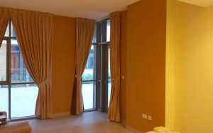 After interior wall painting in Dubai