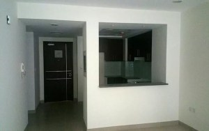 prior to kitchen wall partition
