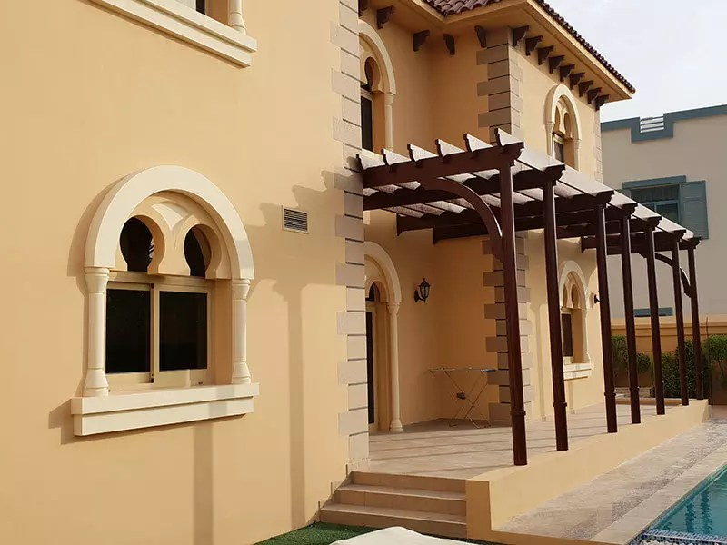 Exterior house painting services in Dubai Falcon City