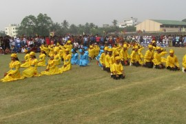 Great Independence and National Day Display 2018 by Alauddin Ahmed Cadet Academy (AACA)