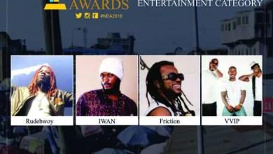 Photo of VVIP, Rudebwoy Ranking, Iwan, Friction, grab nomination – Nima Excellence Awards