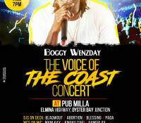 The Maiden Edition Of VOICE OF THE COAST To Come Off On December 16.