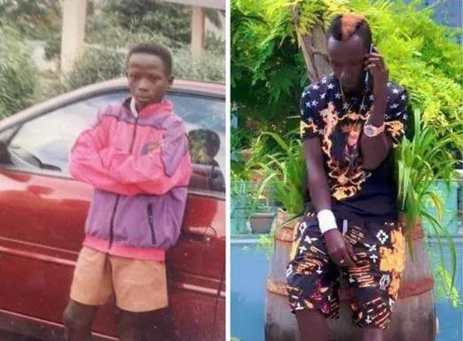 #10YearsChallenge: Social media users react to Patapaa's revealing throwback photo