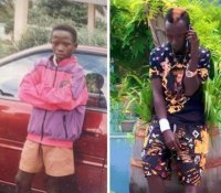 #10YearsChallenge: Social media users react to Patapaa's revealing throwback photo