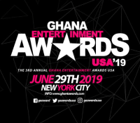3RD EDITION OF GHANA ENTERTAINMENT AWARDS USA SLATED FOR JUNE 29