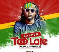 Kahpun – Too Late (Prod. By Appietus)