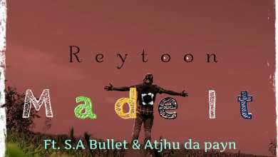 "Photo of Upcoming GH artist ""Reytoon"" collaborate with two top SA HipHop artistes"