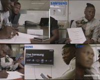 Stonebwoy signed as brand ambassador for Samsung Ghana Limited