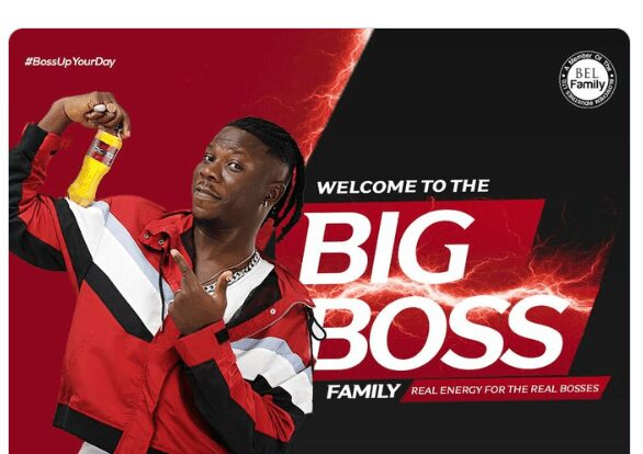 BIG NEWS: Stonebwoy Is Owner Of Big Boss Energy Drink After He Acquired Full Franchise – See Photos