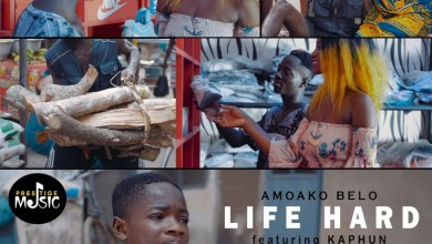 Photo of Amoako Belo – Life Hard Ft. Kahpun (Prod. by Kopow & Mix. By Quaku Pryme)