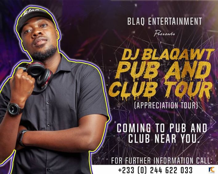 DJ Blaqawt Set To Tour Various Pubs And Clubs In The Coast