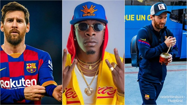 Shatta Wale's Borjor Being Played Live in FC Barcelona Dressing Room