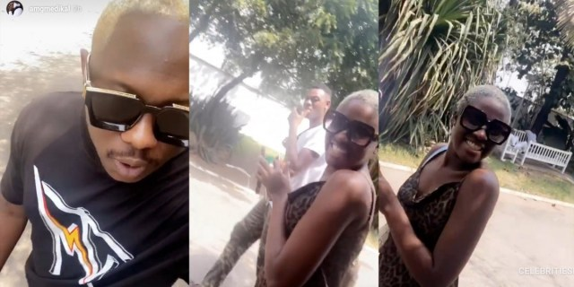 Fella Makafui & Medikal steps out for the first time after their re-union