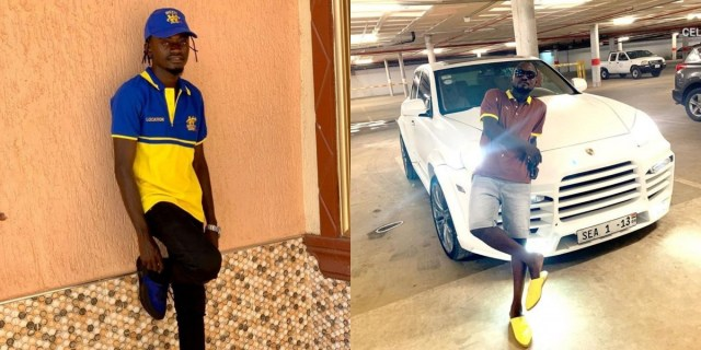 Funny Face reacts after Lilwin also gifted his fan Ghc1000 just to challenge him