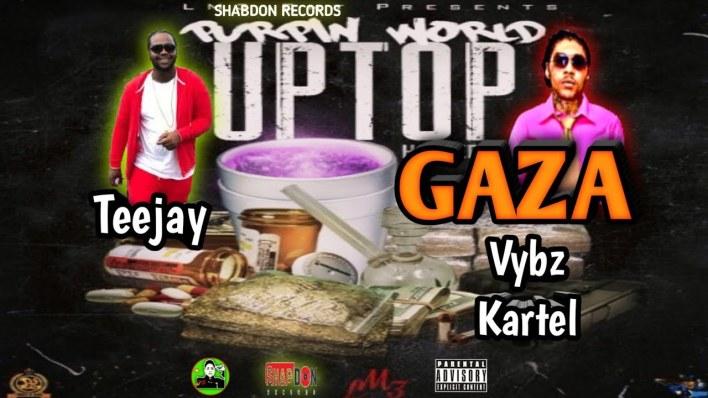Vybz Kartel x Teejay – Uptop Gaza (Prod. By Shabdon Records)