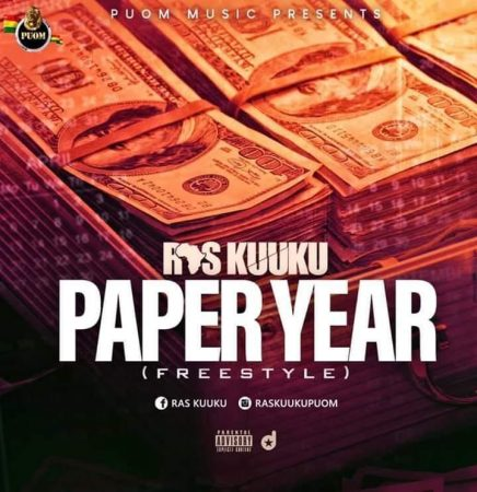 Ras Kuuku – Paper Year (Freestyle)