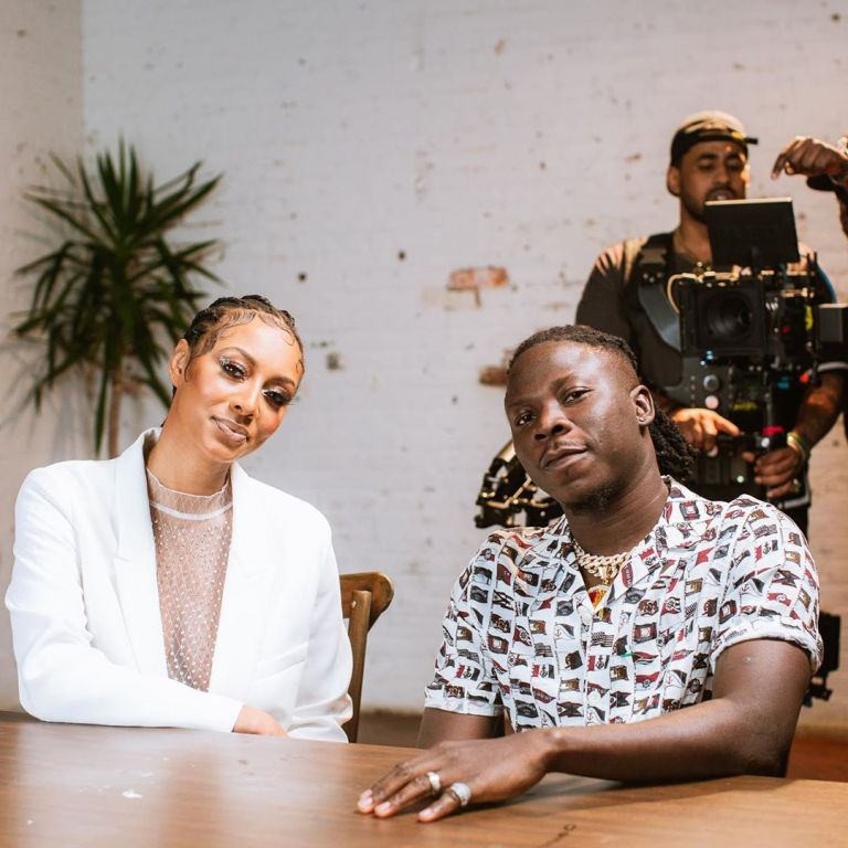 Stonebwoy Hits a Million views on Youtube with 'Nominate' featuring Keri Hilson
