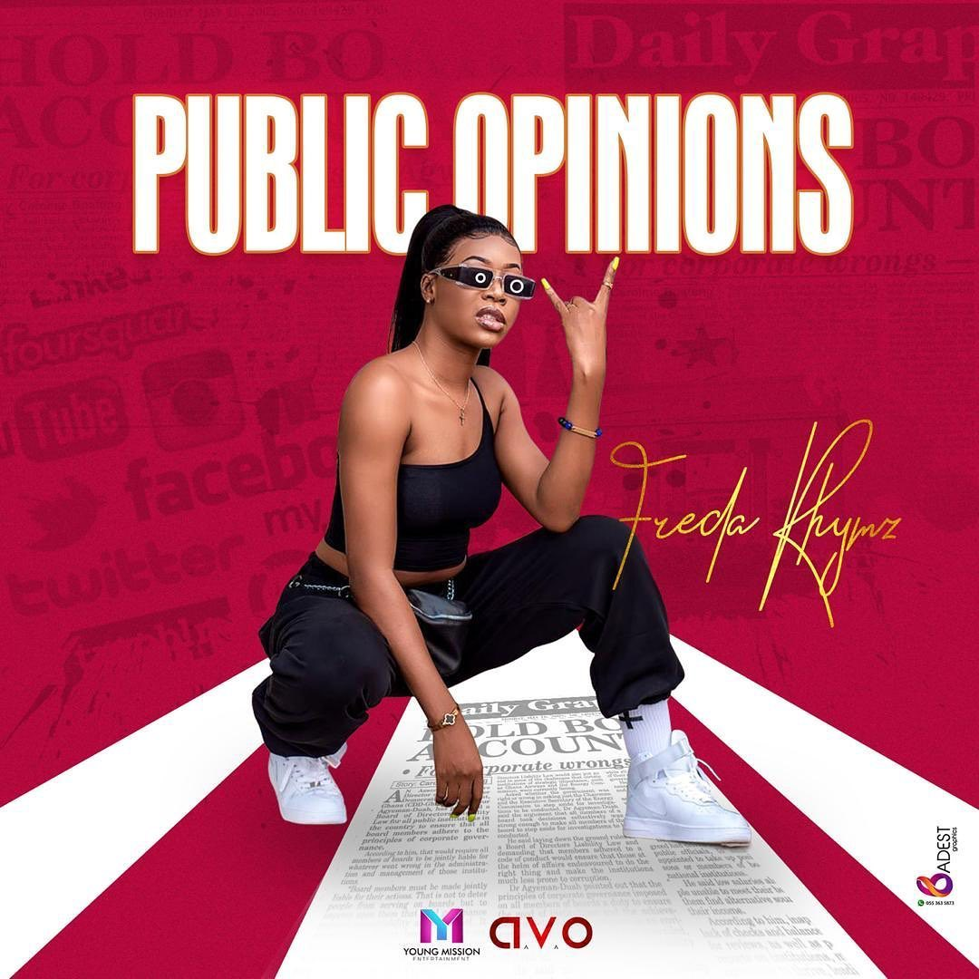 Freda Rhymz - Public Opinion [Explicit]