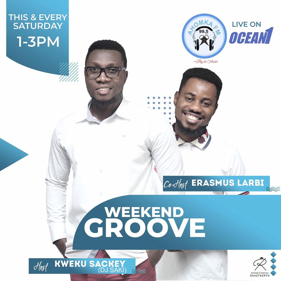 DJ Saki Returns to Ahomka FM with Weekend Groove Show, To Be Co-Hosted By Erasmus Larbi