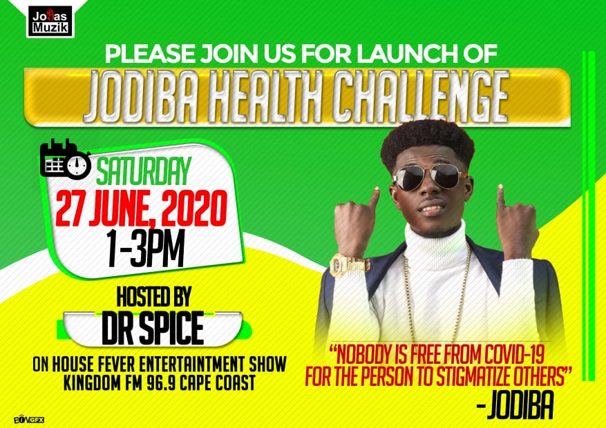 Jodiba Launches Health Challenge to fight Covid-19
