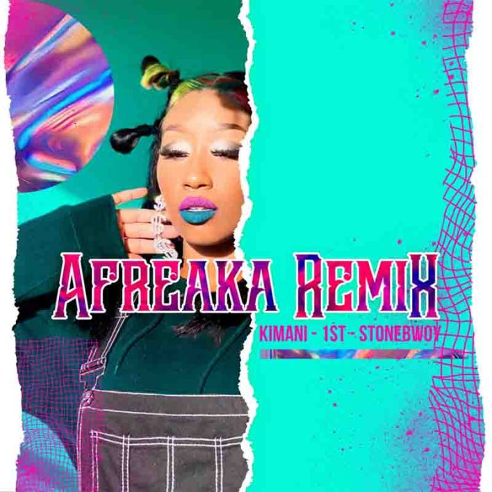 Victoria Kimani & FKI 1st - Afreaka Remix ft Stonebwoy