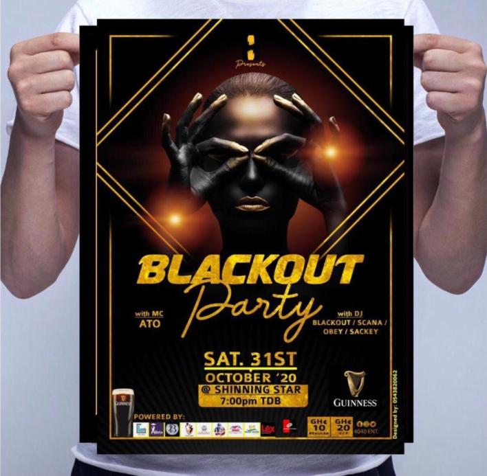 Annual Blackout party slated for October 31st at Bogoso.