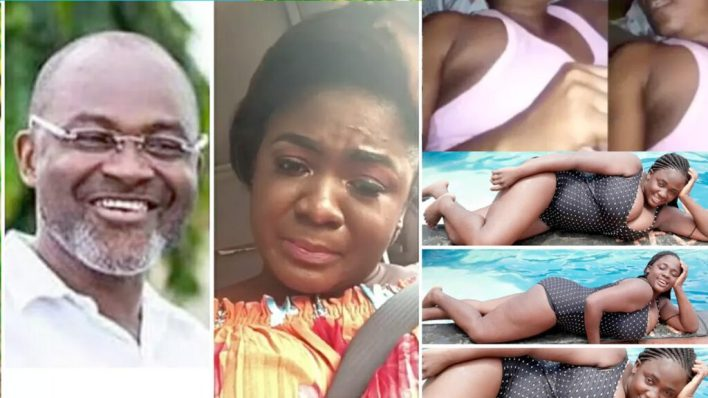 "Tracy Boakye's alleged ""naked video"" report. Some Ghanaians got Kennedy Agyapong Vindicated"