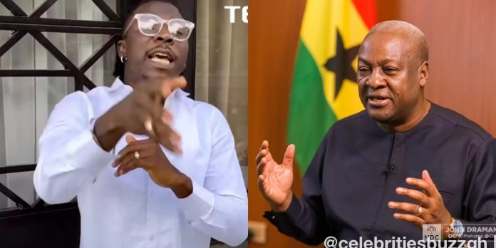 Stonebwoy replies NDC party for criticising him after he said he endorses Akufo-Addo's achievements