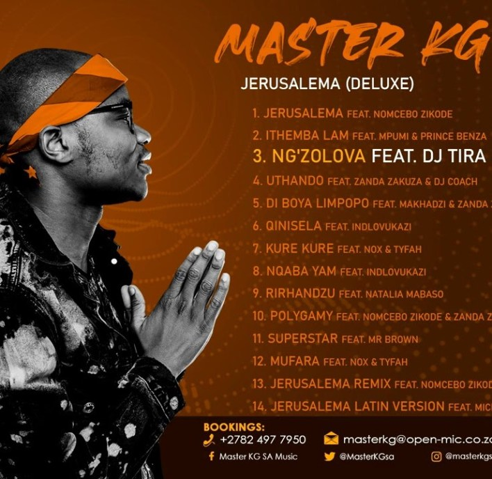 Master KG – Ng'zolova Ft DJ Tira & Nokwazi mp3 download