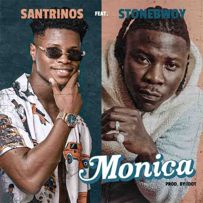 Santrinos Raphael - Monica Ft Stonebwoy