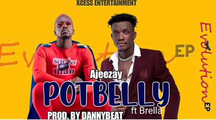 Ajeezay - Potbelly Ft Brella (Prod By Danny Beatz)