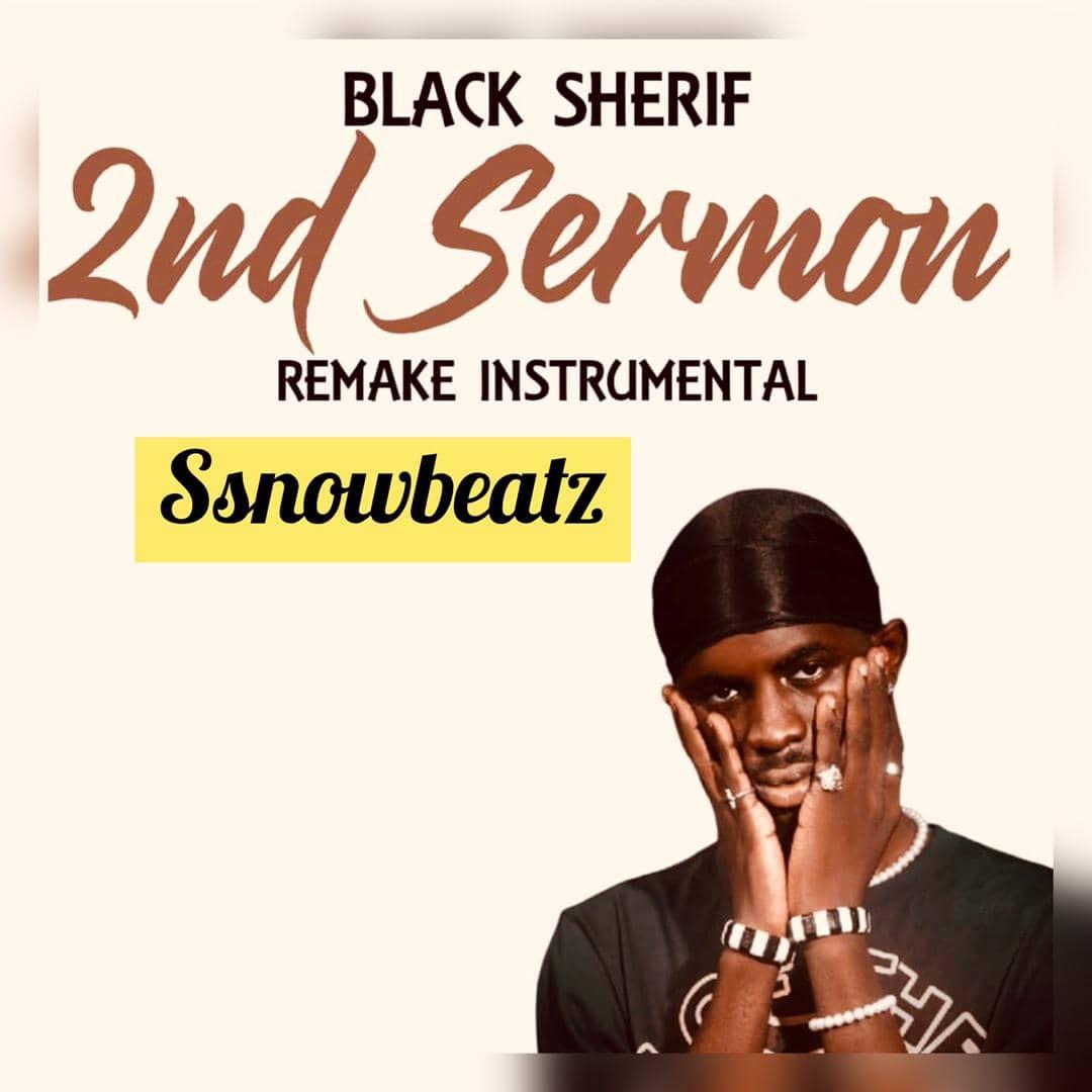 Black Sherif – 2nd Sermon Remake Instrumental mp3 download