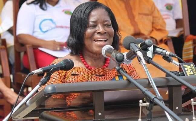 BREAKING: Former Central Regional Minister, Ama Benyiwa Doe dies