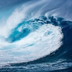ocean wave, representing the human capacity to ride the waves of life with mindfulness classes.
