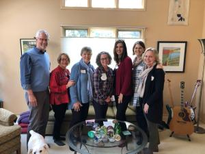 AACFM meditation teachers with Kristin Neff and Christopher Germer at Self-Compassion training in Ann Arbor.