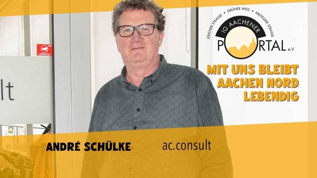 Mit uns bleibt Aachen Nord lebendig mit André Schülke