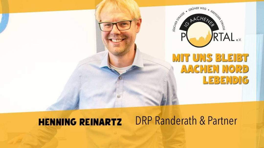Mit uns bleibt Aachen Nord lebendig mit Hennig Reinartz