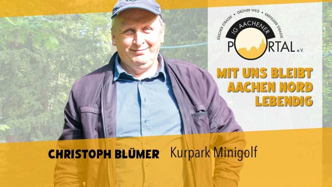 Mit Christoph Blümer bleibt Aachen Nord lebendig