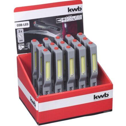 Pencillygte med magnet - COB-LED værktøj
