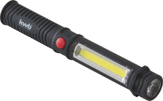 Rørlygte med magnet - COB-LED værktøj