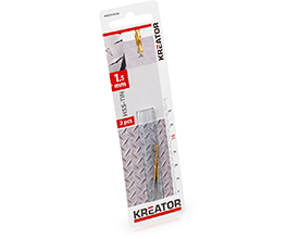 HSS-Tin metalbor 1,5 mm - 2 stk. værktøj